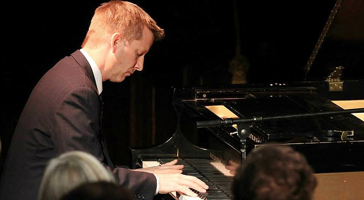Michael Kocour offers a kind of casual mastery and urbane carriage that makes the demanding solo piano idiom sound as natural as breathing.