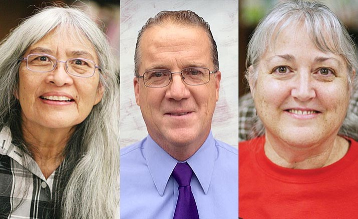 Helen Freeman, Eric Lawton and Christine Schneider were the top vote-getters in Tuesday's election for the Camp Verde School Board.