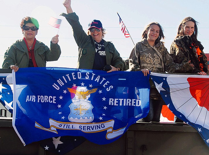 A scene from last year's Veterans Day Parade in downtown Kingman.