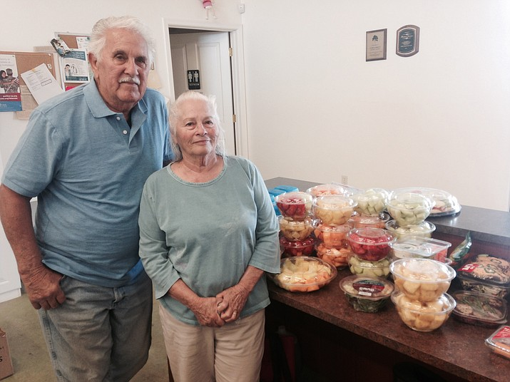 Rudy and Margo Salazar run the Chino Valley Food Bank.