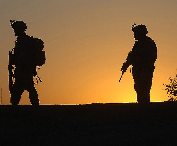 U.S. soldiers on patrol in Afghanistan in 2009.