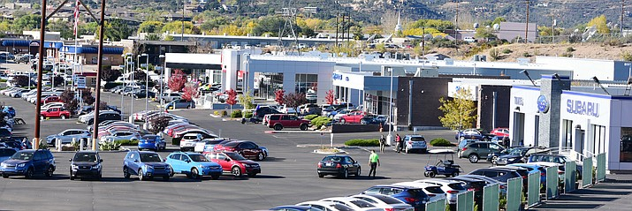 Tim's Auto Group on Willow Creek Road in Prescott is celebrating its 35th anniversary.