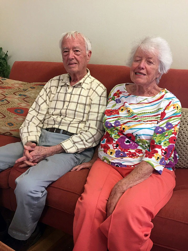 Jim and Betty Powers benefit from help they recieve from Prescott People Who Care, enabling them to still live in their home.
