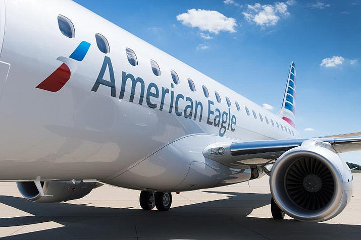 American Airlines is scheduled to offer a departing and arriving flight at Laughlin-Bullhead International Airport from Phoenix Sky Harbor beginning in February.