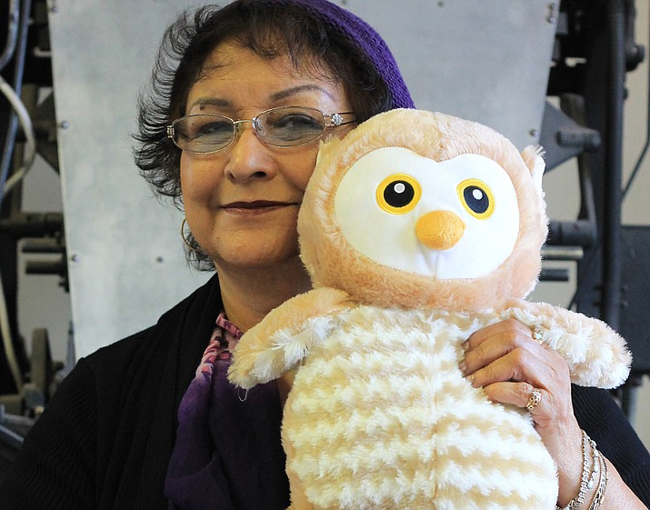Virginia Quinn, Carol Glasburn and Teresa Rodriguez are seeking $20 donations for each stuffed animal which will be given to children attending the Williams Community Dinner Dec. 11.