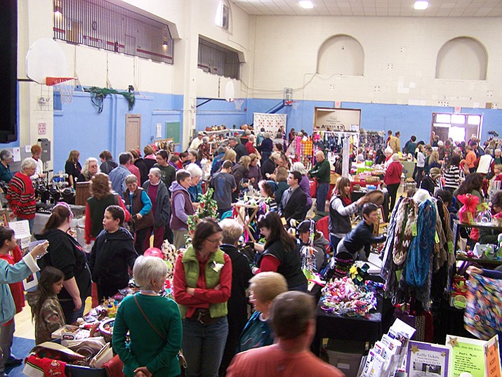 Hundreds of shoppers attend the Last-Minute Non-Profit Stocking-Stuffer Bazaar each year.