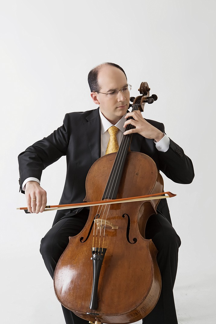 Mark Kosower, principal cellist for the Cleveland Symphony Orchestra