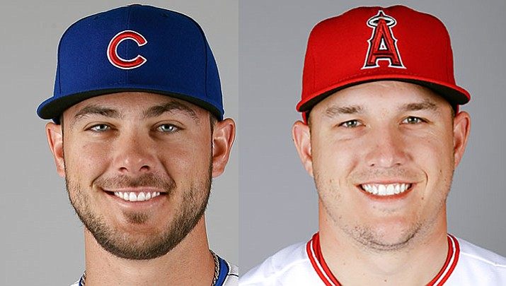 Kris Bryant (NL) and Mike Trout (AL) have won Major League Baseball's MVP awards.