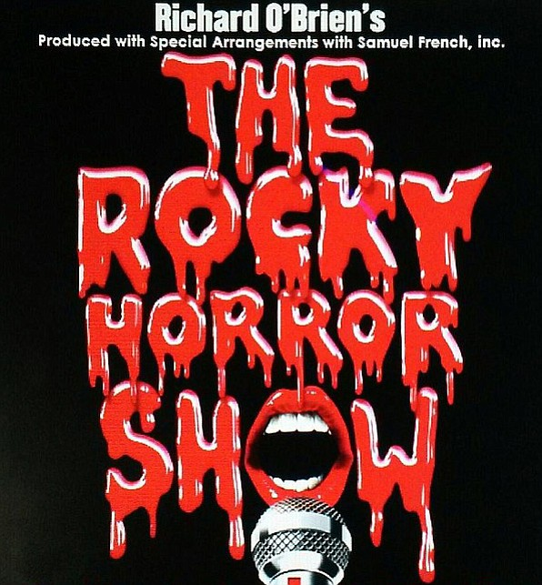 The Rocky Horror Picture Show on the stage.