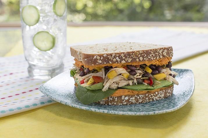 Spiced Caribbean Chicken Sandwich is a winner.
