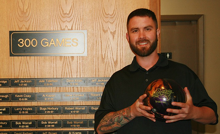 Kevin Wilson, at Plaza Bowl in Prescott, Laughlin Mixed League on Nov. 13, bowled a 300 game/800 series (234/300/279).