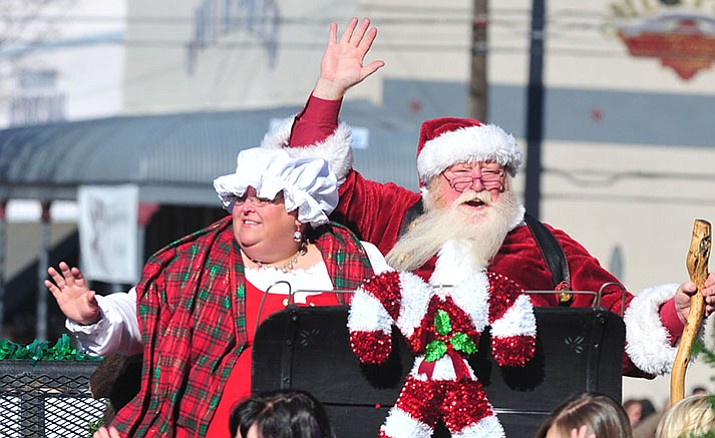 Santa and Mrs. Claus make an appearance in the 2015 Prescott Christmas Parade. This year's parade is Dec. 3.