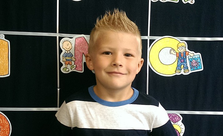 Parker Cannedy is a kindergartener at Abia Judd Elementary and is PUSD's Student of the Week.