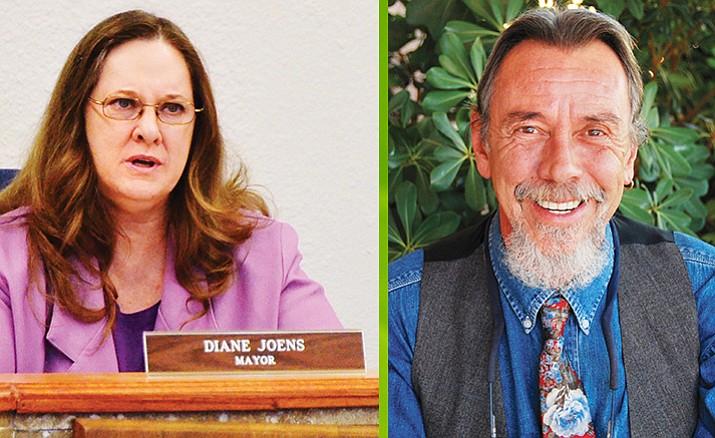 Diane Joens and Terence Pratt