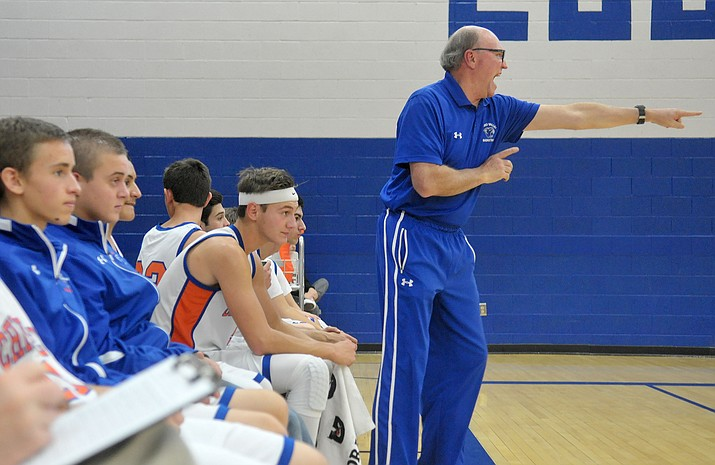 Chino Valley High School boys basketball coach Mike Fogel says this year his Cougars expect a winning season with a senior-dominated team.