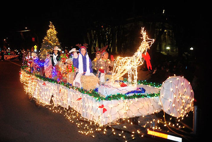 Prescott's Holiday Light Parade marched and moved through dowtown Prescott Saturday, November 26.