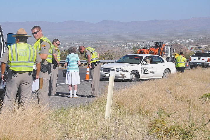 An elderly woman sideswiped another motorist when she entered Highway 160 headed the wrong way earlier this year. There are a number of steps drivers should take when involved in a minor crash - but many motorists share common misconceptions about what they are as this report by reporter Aaron Ricca demonstrates.