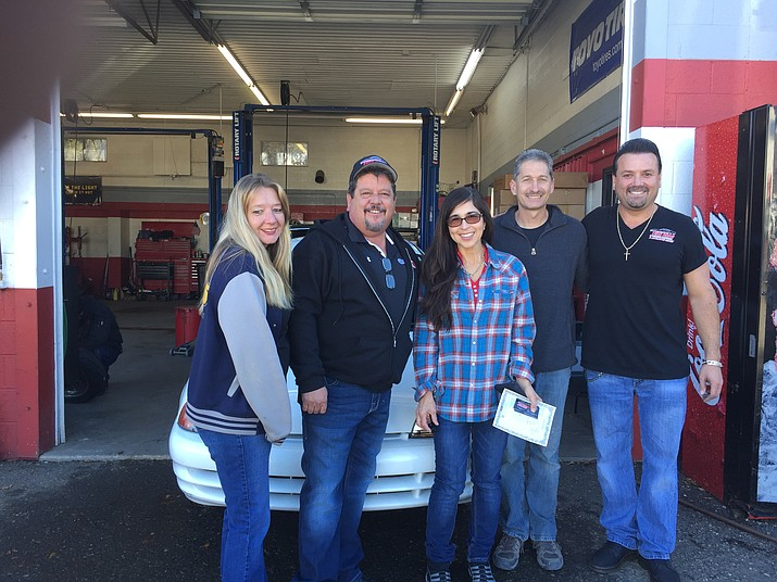 The owners of Prescott Auto Center recently donated their fourth vehicle.