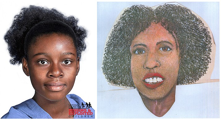 Composite images of the missing individual.