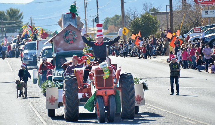 The Cottonwood Christmas Parade will begin its march down Main Street at 11 a.m.The parade begins at the Verde Valley Fairgrounds and ends in historic Old Town Cottonwood. VVN file photo