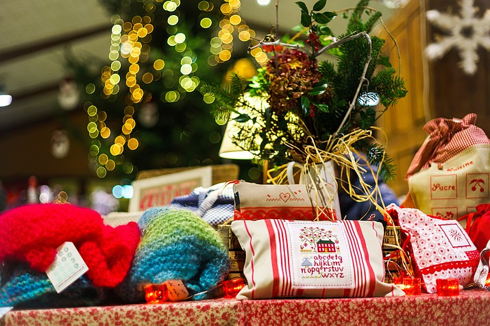 Handmade items from clothing to candles will be available from vendors at the Grand Canyon Community Church Christmas Bazaar Dec. 3.