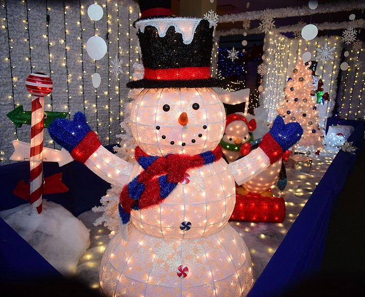 The Enchanted Christmas Tour of Lights opened November 25 and runs through December 30, 2016 at the Prescott Gateway Mall.(Les Stukenberg/The Daily Courier)