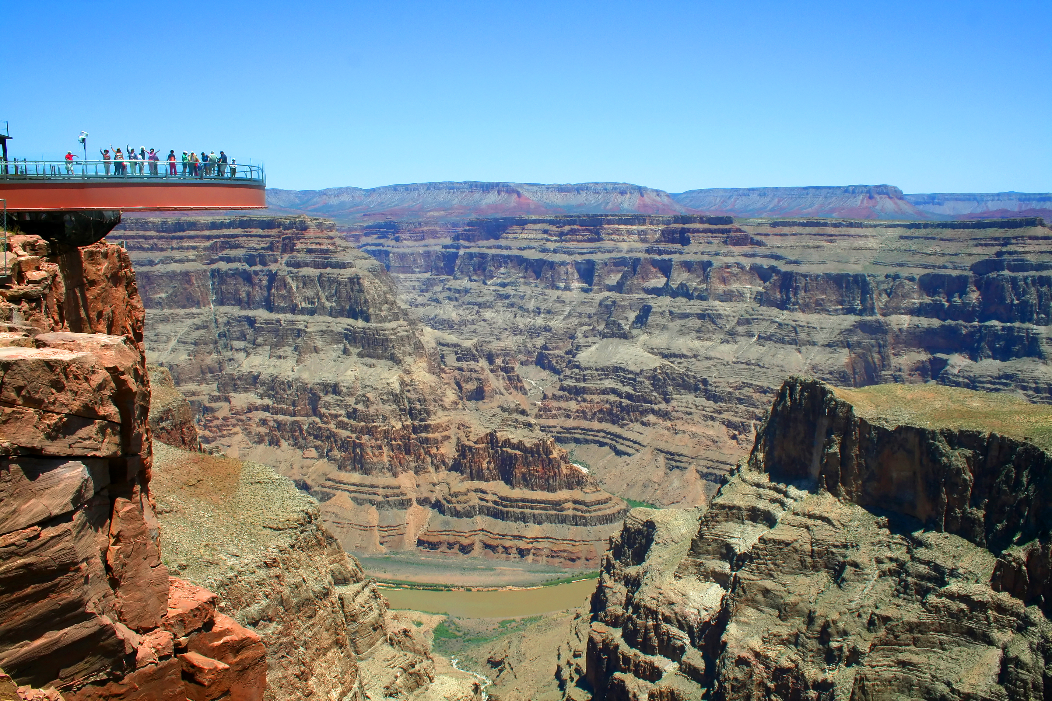 Man Jumps To Death From Grand Canyon Skywalk Grand Canyon