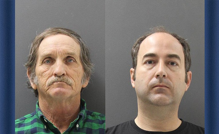 Harold Wayne Adams, left, and Brandon Josiah Buttler