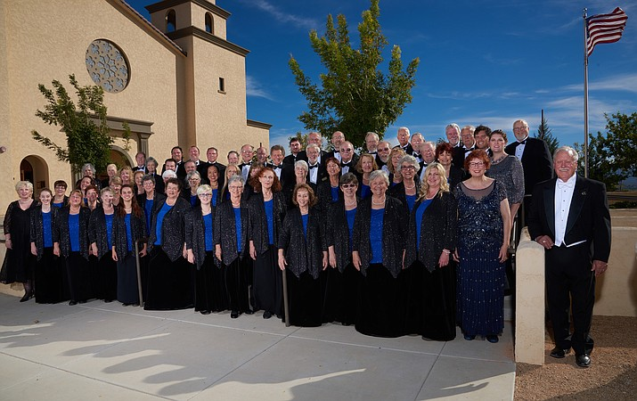 "The Prescott Chorale presents ""Fantasy and Figgy Pudding"" Saturday, Dec. 3."