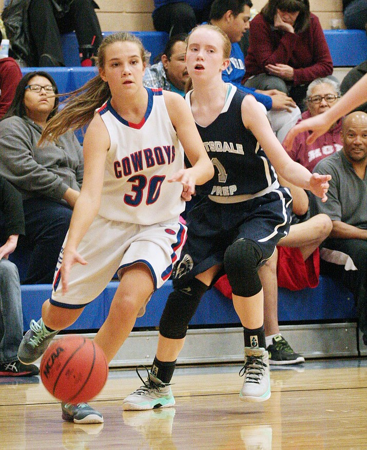 Freshman playmaker Tanna Decker scored six points, added eight rebounds, three assists and five steals. (VVN/Bill Helm)
