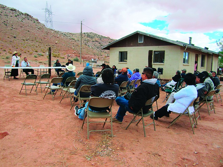 Throughout the day Nov. 5, 40 to 50 community members within the Bodaway/Gap Chapter gathered in support of the proposed Escalade project that would bring development to the western rim on the Navajo Nation.