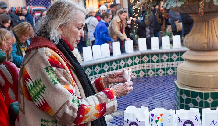 Along with all the holiday cheer, the season is a time of remembrance and hope. For those who have lost a loved one to cancer or have someone dear to them struggling with the disease, there is an opportunity to sponsor and offer a luminaria in their name.
