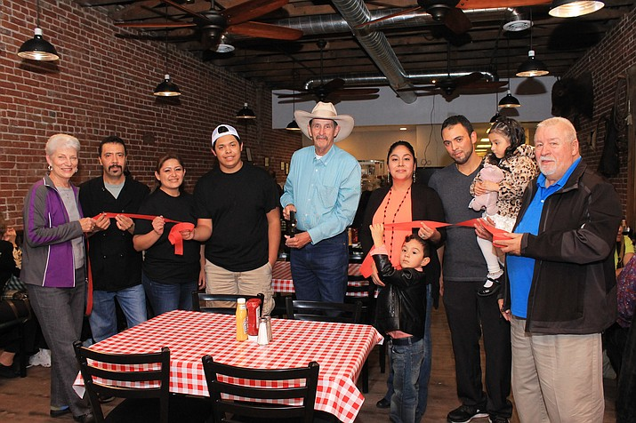 Brothers Pascual and Aladio Ramirez, along with their wives Ruth Alvarado and Debbie Ramirez, opened Mexican-American restaurant El Corral on Route 66 in October.