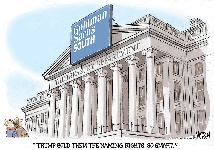 Editorial cartoon for Dec. 6, 2016