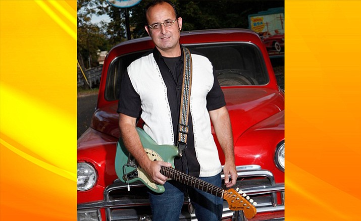 Be swept away to the feel of a 1960's beach party when Randy J takes the stage at Vino Di Sedona on Friday December 9, 7-10 PM. Randy is famous for his 50's and 60's style surf guitar.