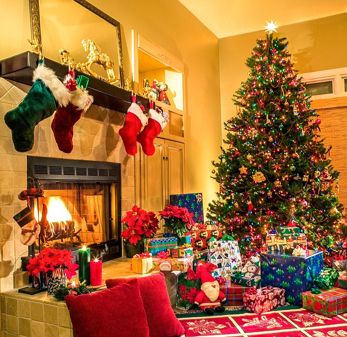 A mantle serves many purposes in addition to providing a place to hang your stockings. (Metro Creative Services)