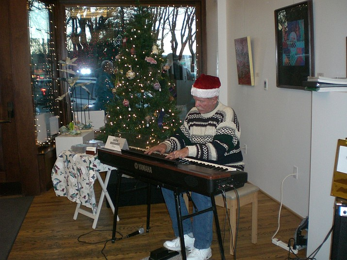 For Acker Night, Dec. 9, 5:30 to 8:30 p.m., Chris Weuhrmann will be on keyboard at the 'Tis Art Center and Gallery, 105 S. Cortez St.
