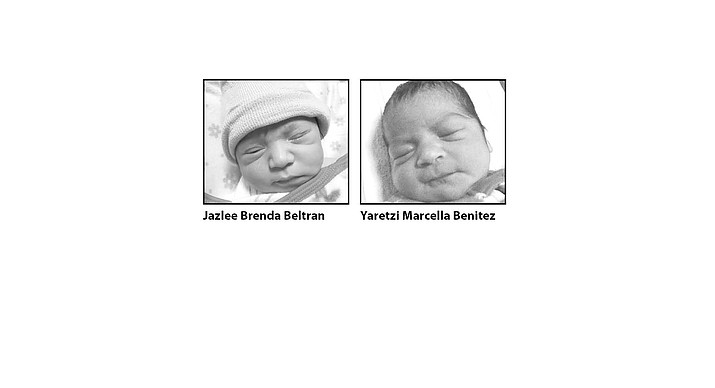 Birth announcements in the Dec. 7, 2016 edition of the Chino Valley Review.