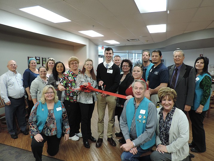 Good Samaritan Society Prescott Valley celebrated their newly-renovated rehabilitation wing with a ribbon cutting.
