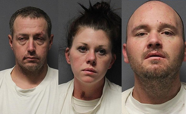 Mark Anthony Debottis Jr., Kristina Nicole Baugh. Nathaniel Angel Janes (Photos courtesy YCSO)