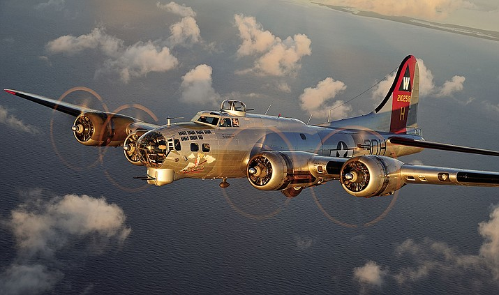 The famed B-17 Bomber could touch down in Kingman early next year and available for ground tours and flights - but only if the dominoes fall into place in time.