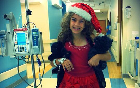 Blood donations are needed for patients like Mia McPoland, who needs transfusions monthly.