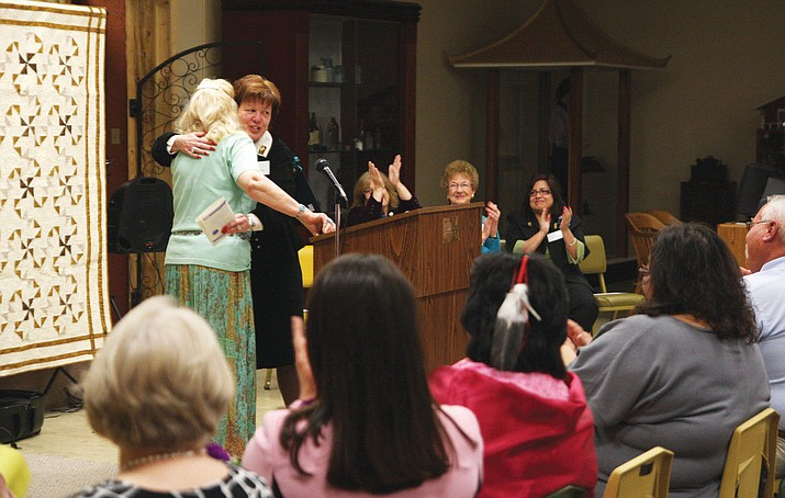 Applause and congratulatory embraces are the norm at the Women's Making History awards, such as the occasion in 2010. Nominations are open for the 2017 awards.