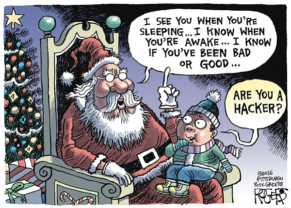 Editorial Cartoon: Dec. 18, 2016