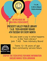 Teen Advisory Board_Prescott Valley Public Library