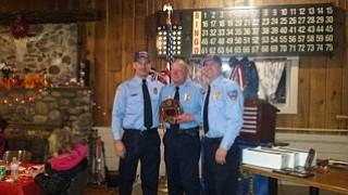 John Wagoner receives his 30 year service award.