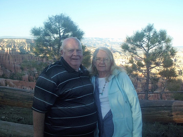 Richard and Shirley Leithead of Prescott Valley celebrated their 50th wedding anniversary on Dec. 9.