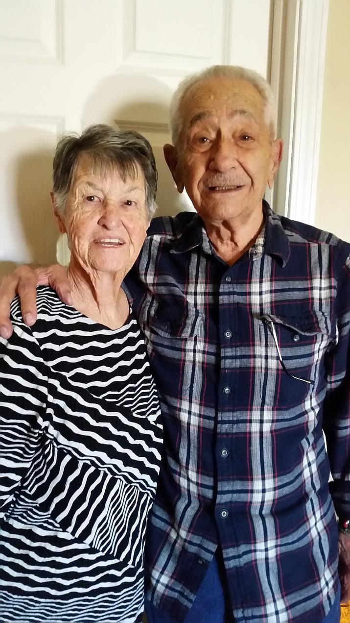 Adolphus Michael Angotti and Marjorie Angotti celebrated their 70th wedding anniversary.