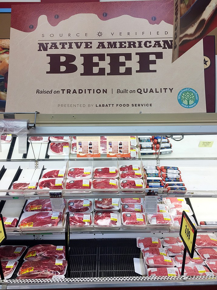 Navajo American beef raised on 23 Navajo operated ranches will now be available for purchase at local Bashas'. Submitted photo