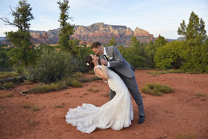 The 2017 Sedona Bridal Show and Boot Camp is coming to the Hilton Sedona Resort at Bell Rock Saturday, Jan. 14. (Photo Courtesy of Sierra Blanco Photography)